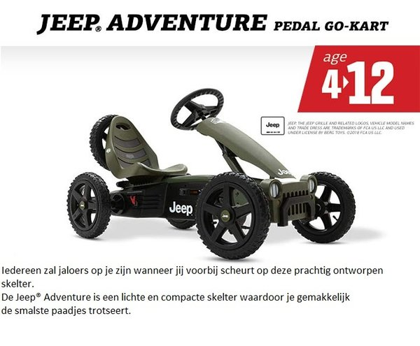 Jeep.Adventure   pedal go-kart