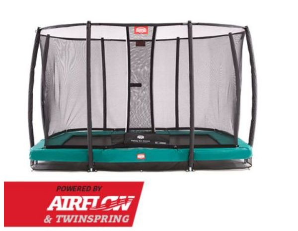BERG INGROUND ULTIM GREEN + SAFETY NET DELUXE ULTIM 220 x 330