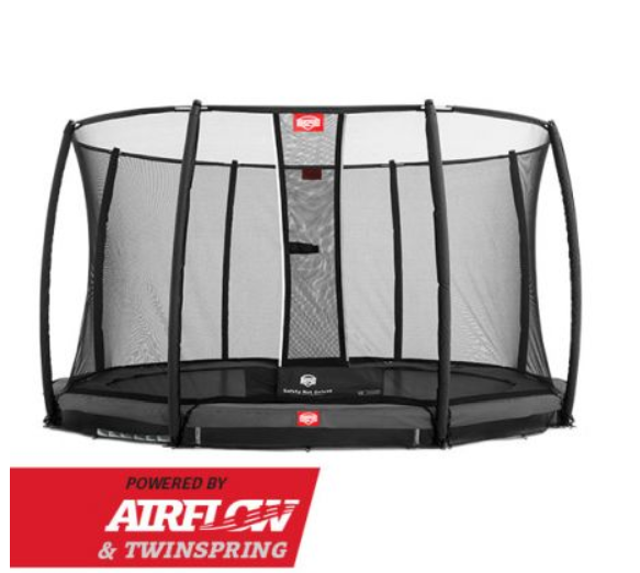 BERG INGROUND CHAMPION GREY 330 + SAFETY NET DELUXE