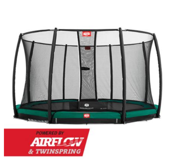 BERG INGROUND CHAMPION GREEN 380 + SAFETY NET DELUXE