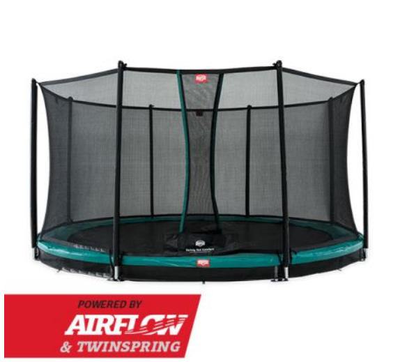 BERG INGROUND CHAMPION GREEN 380 + SAFETY NET COMFORT