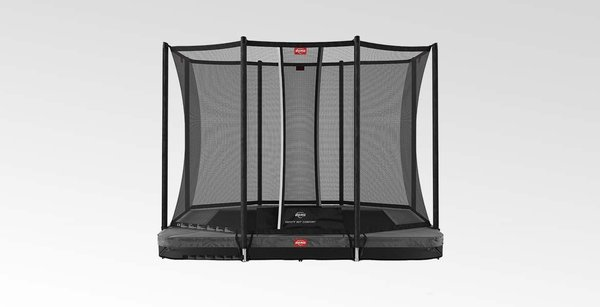BERG ULTIM FAVORIT INGROUND GREY 280 x 190  + SAFETY NET COMFORT